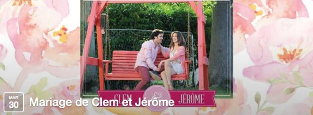 le mariage de CLEM TF1