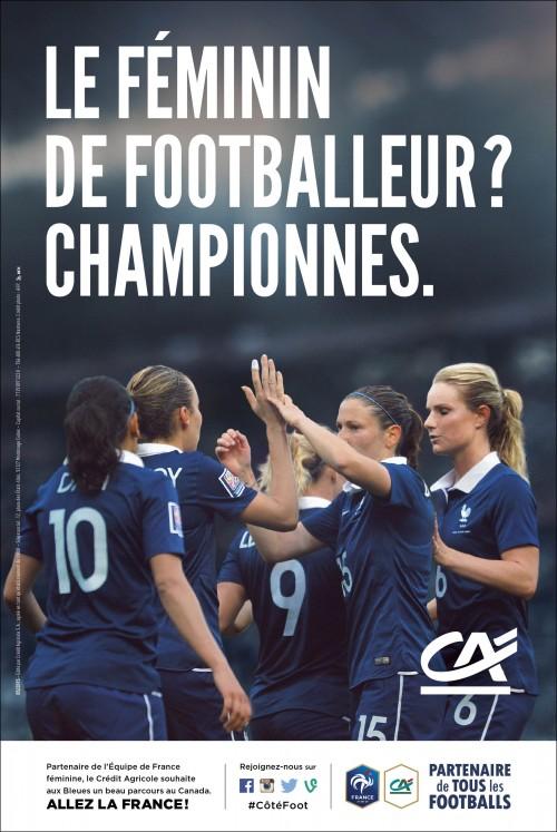 Coupe du Monde de football féminin Crédit Agricole,